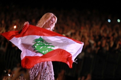 Shakira to perform in Lebanon at the Cedars International Festival