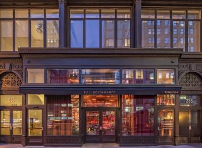 Ilili New York's No. 1 Lebanese restaurant to receive the international Star Diamond Award